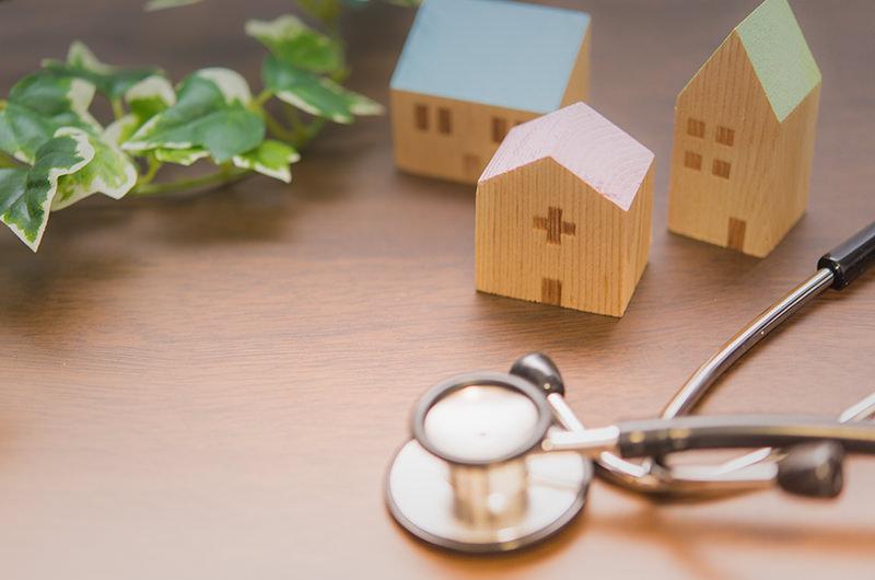 通院が困難な方のために医師が自宅へおうかがいします